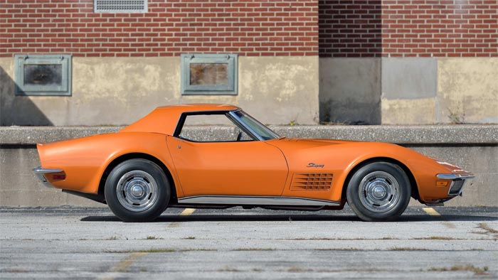 The Best Corvettes of the 1970s: No.1 - The 1971 Corvette