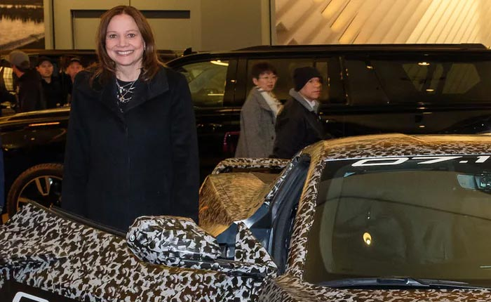 GM CEO Mary Barra Talks C8 Corvette Pricing and Spinning Off Corvette as a Brand