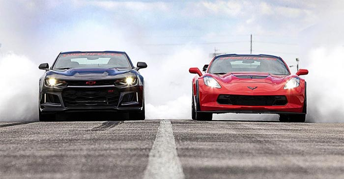 Camaro VS Corvette