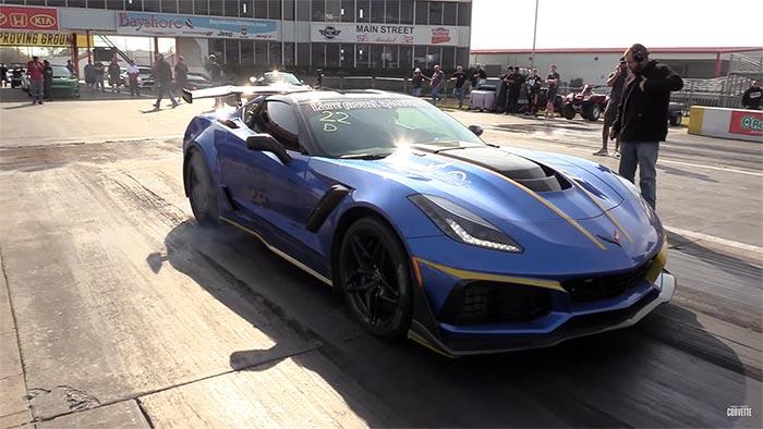 [VIDEO] Daily Driver 2019 Corvette ZR1 Runs the Quarter Mile in 8 Seconds