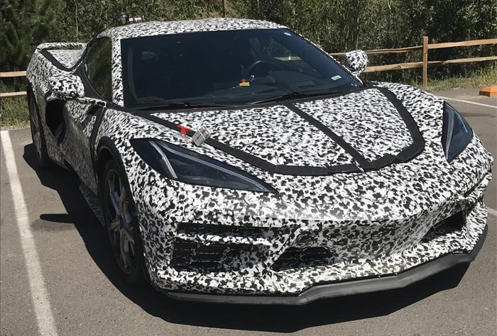 Chevrolet May Offer A Performance Hybrid Option On All C8 Corvette Models
