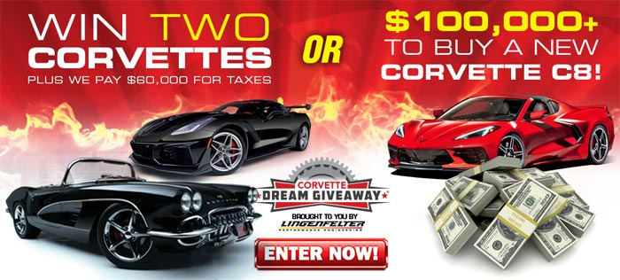 [VIDEO] Just a Few Weeks Left To Get Your Corvette Dream Giveaway Tickets
