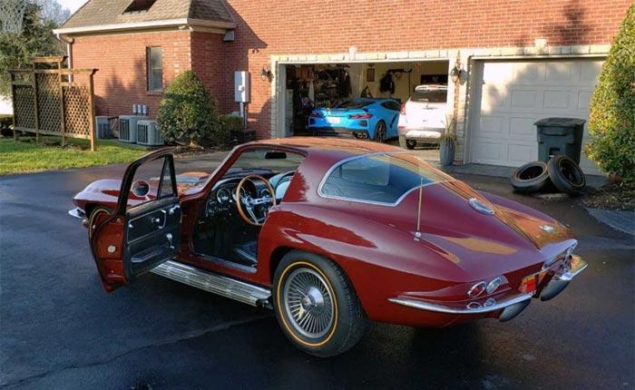 Corvette Assembly Plant Manager Kai Spande's New 1966 Corvette Sting Ray Sport Coupe