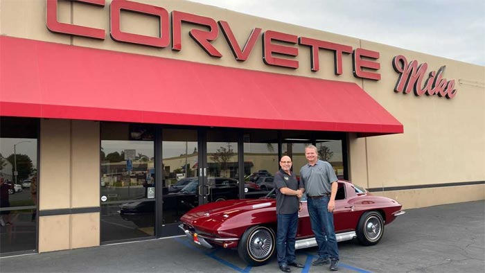 Corvette Assembly Plant Manager Kai Spande Purchases a 1966 Corvette Sting Ray Sport Coupe