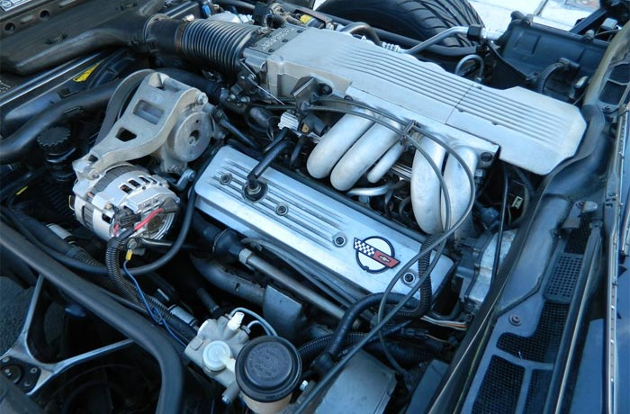 1986 Corvette C8 Engine