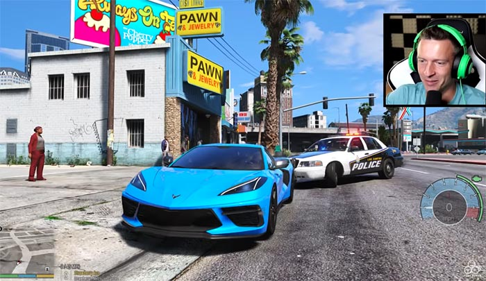 [VIDEO] You Can Drive the C8 Corvette in Grand Theft Auto 5