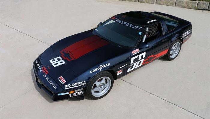 Corvette Challenge Race Car