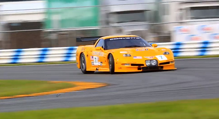 [VIDEO] Go On-Board the Corvette C5-R GT1 Racer at the 2019 Daytona Classic 24 Hour Race