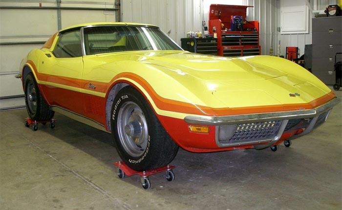 Corvettes on eBay: Funky 1971 LT-1 Corvette Stingray Barn Find