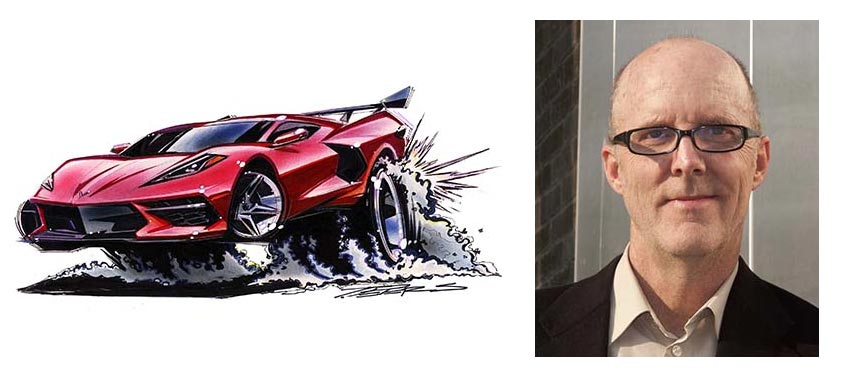 Tom Peters and his Roth-inspired C7 Corvette