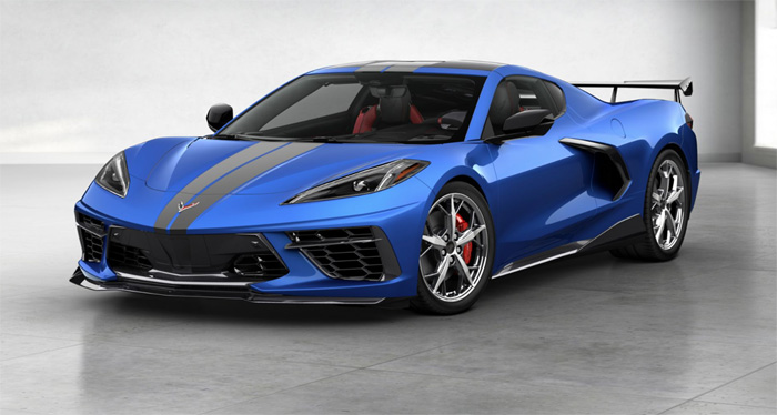 Definitive List of C8 Corvette Accessories that Can Be Installed for the NCM R8C Delivery Program
