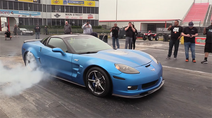 [VIDEO] C6 Corvette ZR1s Are Let Off the Chain at the Drag Strip