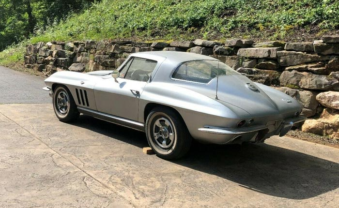 Corvettes on eBay: 1966 Corvette Sting Ray Sport Coupe