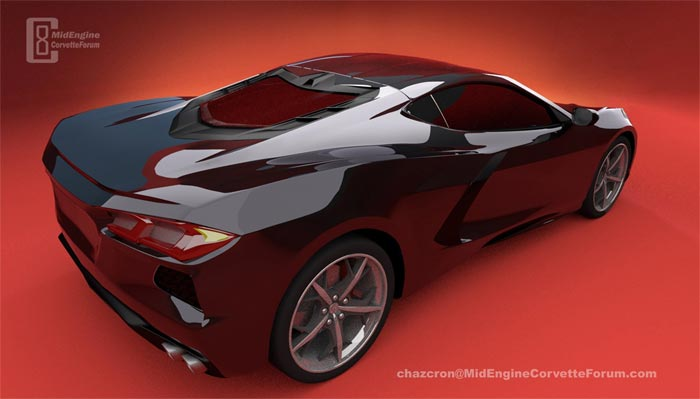 [PICS] New Year's Day Renders from Chazcron Shows New Details of the 2020 Corvette