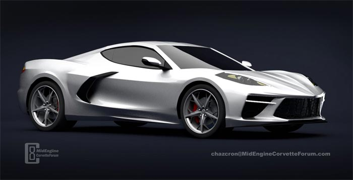 [PICS] New Year's Day Renders and Commentary from Chazcron on the 2020 C8 Corvette