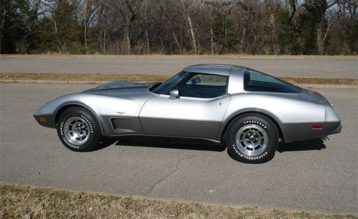 Corvettes for Sale: 1978 Silver Anniversary Corvette with 3K Miles