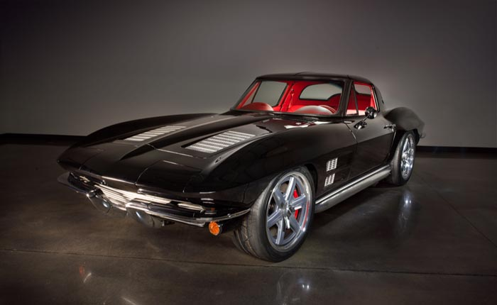 Twin-Turbo 1963 Corvette Split Window Restomod Headed to Barrett