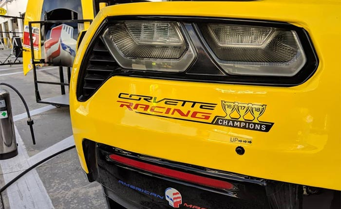[PIC] Corvette Racing Livery for 2019 Shows Three Consecutive Championship Trophies