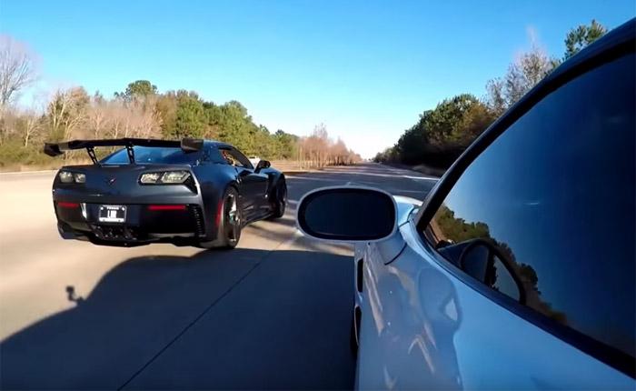 [VIDEO] LMR Races a 2019 Corvette ZR1 vs the Blue Devil 2010 ZR1