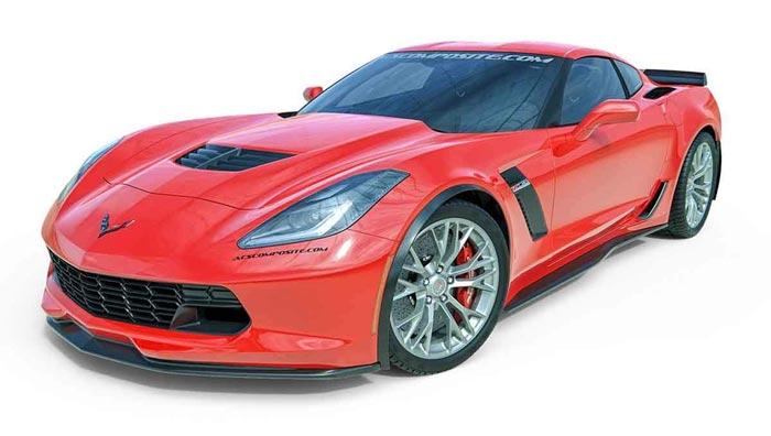 Installing ACS Composite's Carbon Flash Fender Extensions on C7 Corvette Grand Sport or Z06