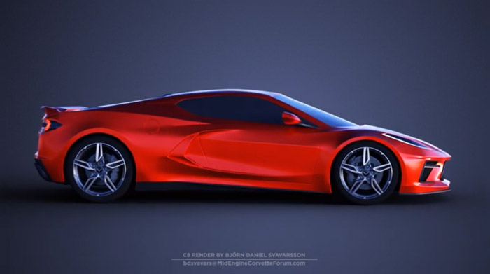 [VIDEO] New C8 Corvette 360-Degree Render from bdsvavars