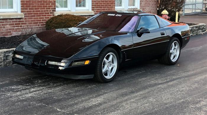 1995 corvette zr 1 sells for 16 500 at mecum kissimmee 2019 corvette sales news lifestyle. Black Bedroom Furniture Sets. Home Design Ideas