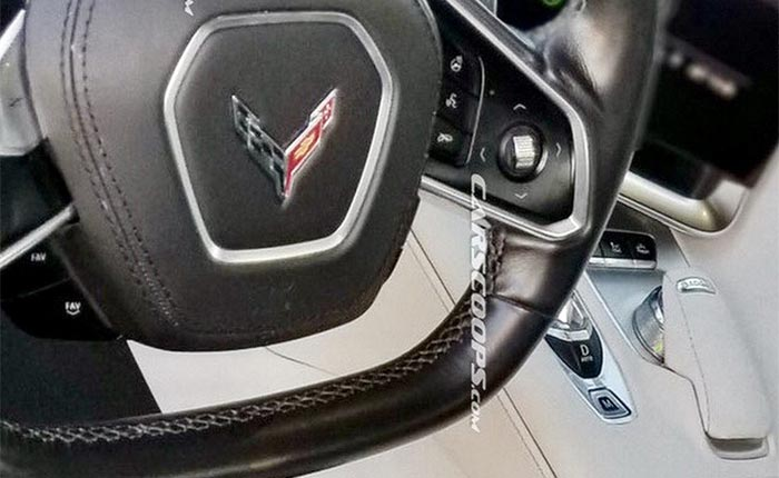 Carscoops Shares First Photos of the C8 Mid-Engine Corvette's Interior
