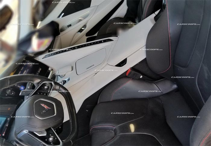 Carscoops C8 Interior Spy Photo