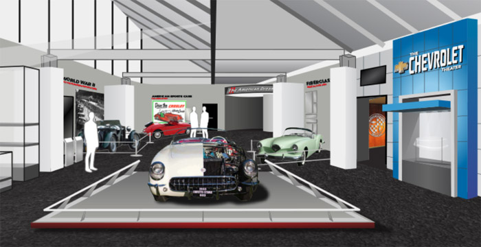 National Corvette Museum's Gateway and Admission Areas Getting a Face Lift
