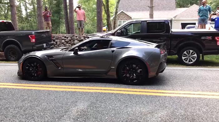 [VIDEO] Gender Reveal Burnout in a C7 Corvette Z06