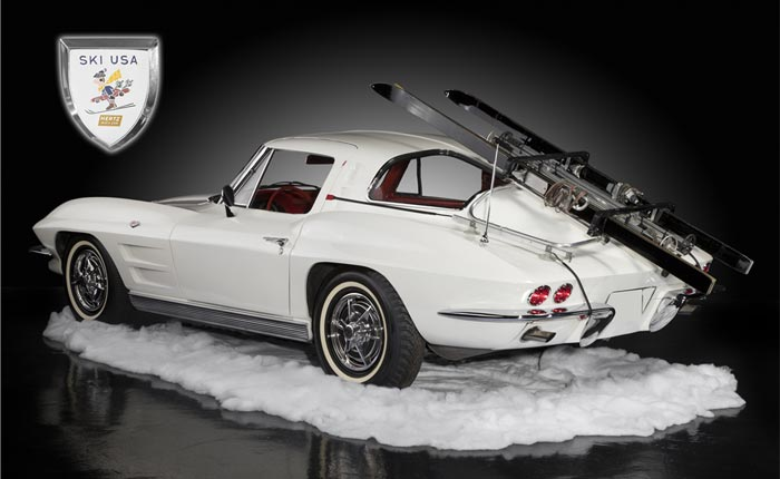 Hertz 1963 Corvette Ski Car Offered at Barrett-Jackson