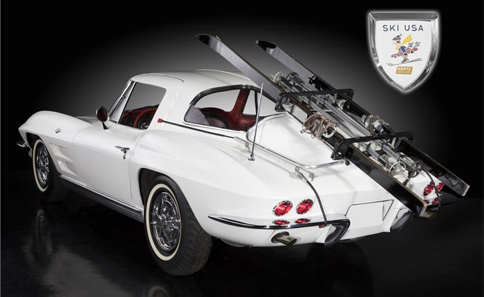 1963 Corvette Hertz Ski Car Offered at Barrett-Jackson
