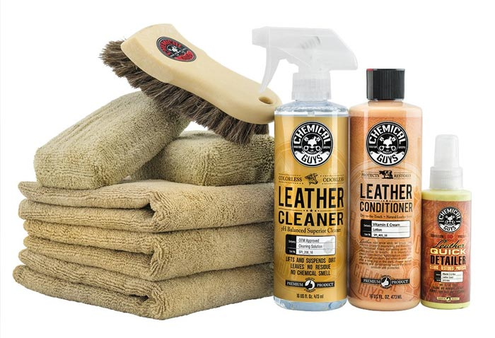 [AMAZON] Chemical Guys HOL303 Leather Cleaner and Conditioner Care Kit