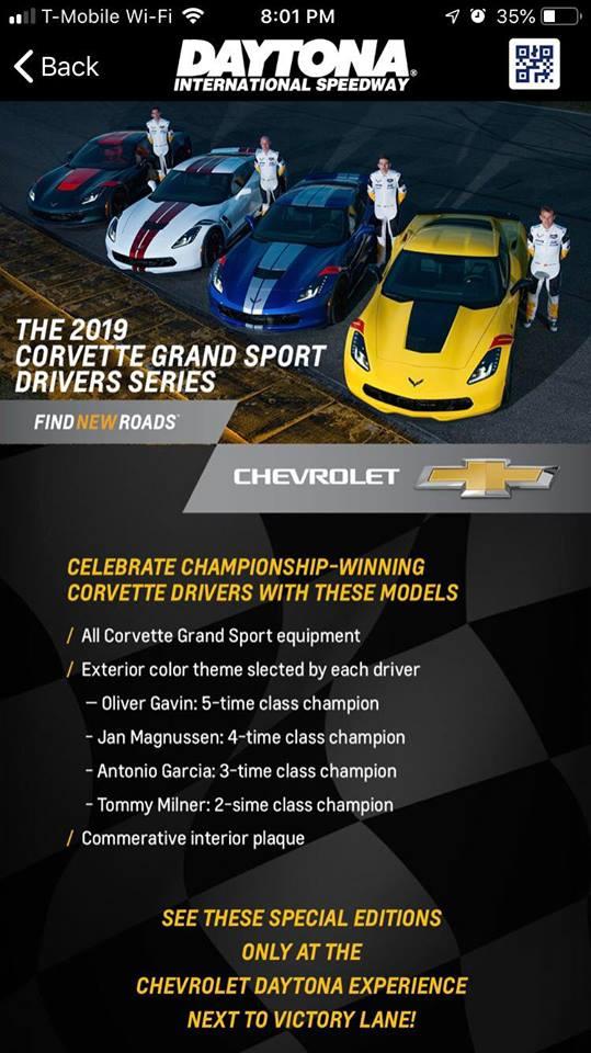2019 Corvette Grand Sport Drivers Series