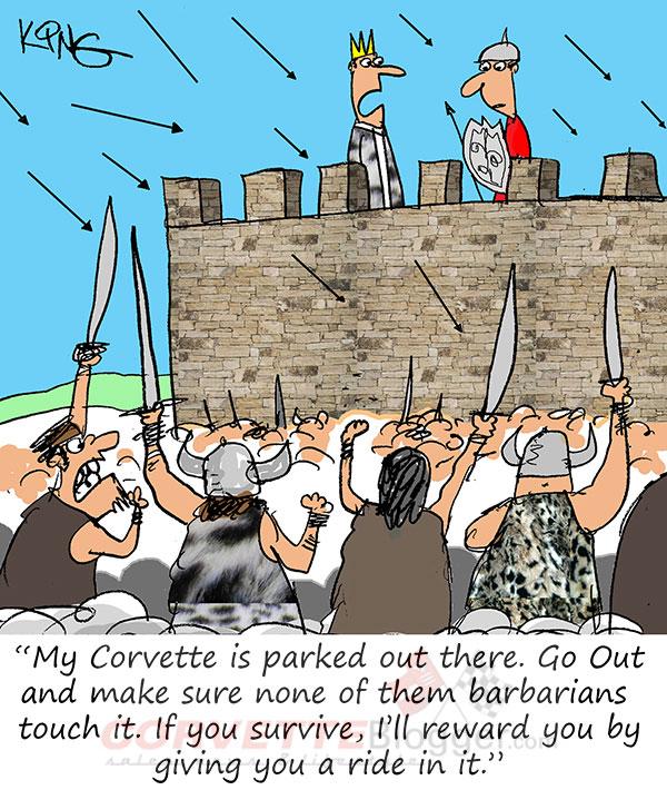 Saturday Morning Corvette Comic: Game of Thrones Edition