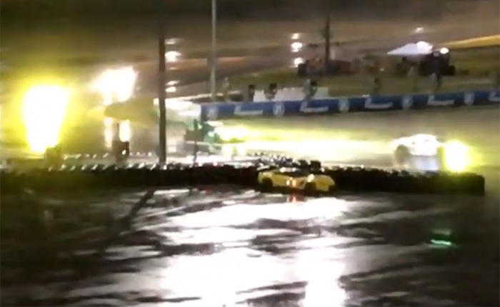 [VIDEO] Tommy Milner's Wicked Slide in Turn 1 at the 2019 Rolex 24