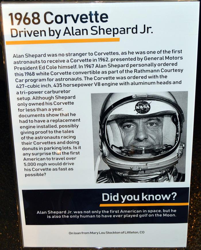 1968 Alan Shepard Corvette