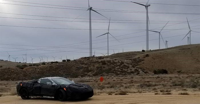 [SPIED] Motor Trend Spots the C8 Mid-Engine Corvette on its California COTY Test Loop
