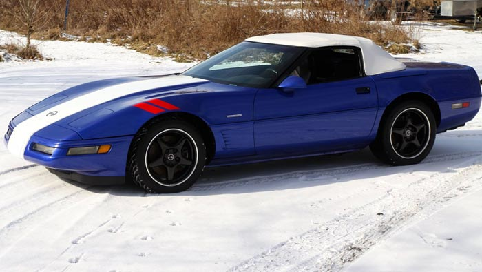 Corvettes For Sale: Rare 1996 Corvette Grand Sport Convertible