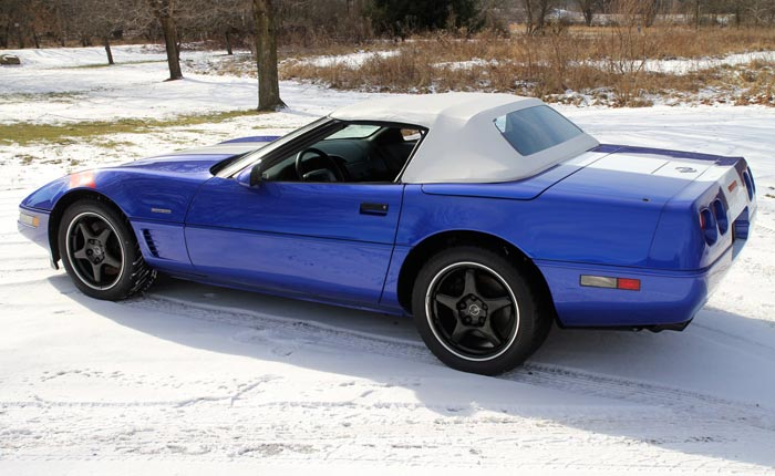 Found on Facebook: Rare 1996 Corvette Grand Sport Convertible