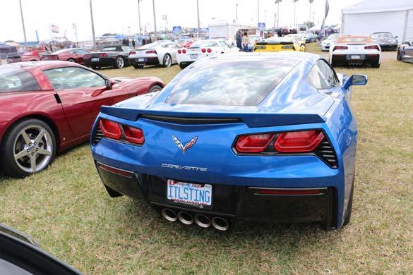 The Corvette Vanity Plates of the 2019 Rolex 24