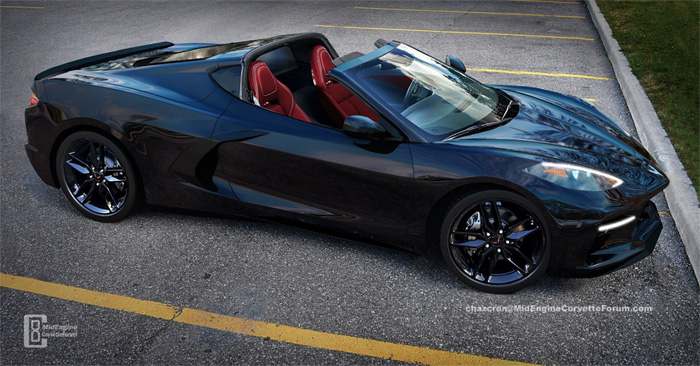 [PIC] Rendered C8 Mid-Engine Corvette with the Targa Top Removed