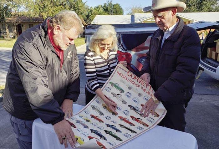 Texas Man Donates Corvette Memorabilia Collection to the National Corvette Museum
