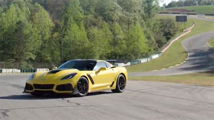 [VIDEO] Official GM Track Footage of the 2019 Corvette ZR1