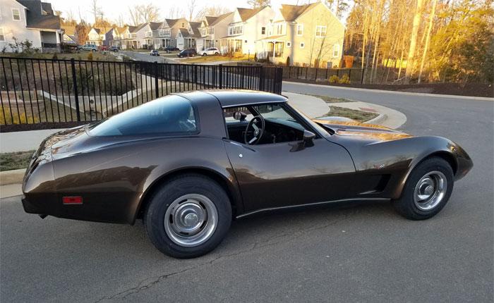 Corvettes for Sale: Brown 1978 Corvette on BringATrailer