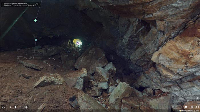 Corvette Museum Offers 360-Degree Interactive Cave Tour on 5th Anniversary of Sinkhole