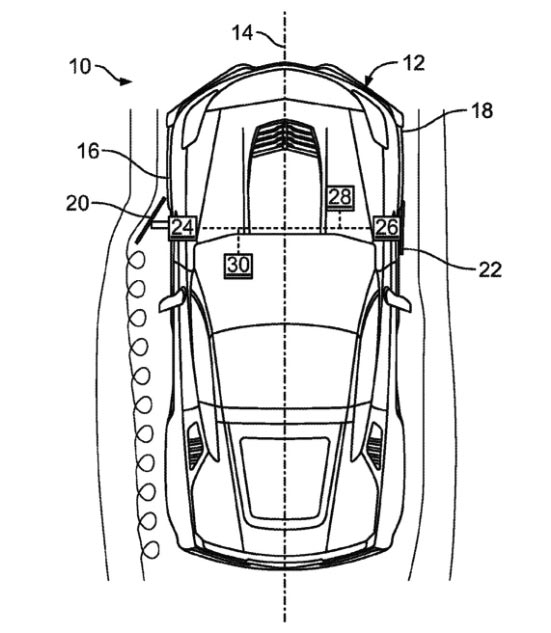 Patent Application for Active Aero Side Panels