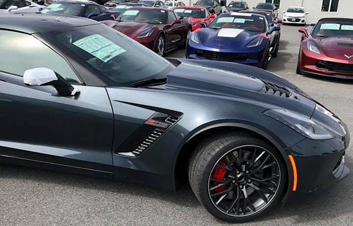 Inventory of New Corvettes Grows to a 232 Day Supply with 9,000 Available