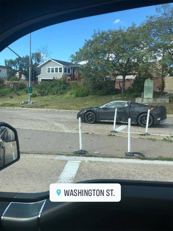 [SPIED] Another Sighting of the C8 Mid-Engine Corvette Prototype in San Diego