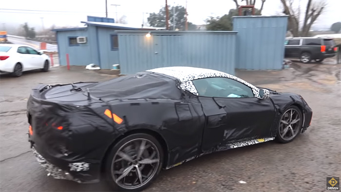 C8 Corvette Mid-Engine Prototypes in California